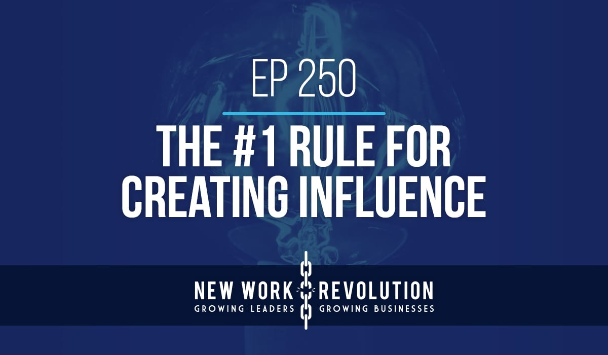 Creating influence as a leader